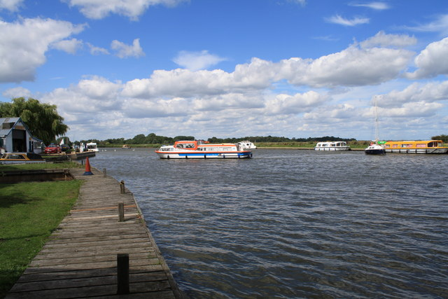 The River Bure near Acle Bridge