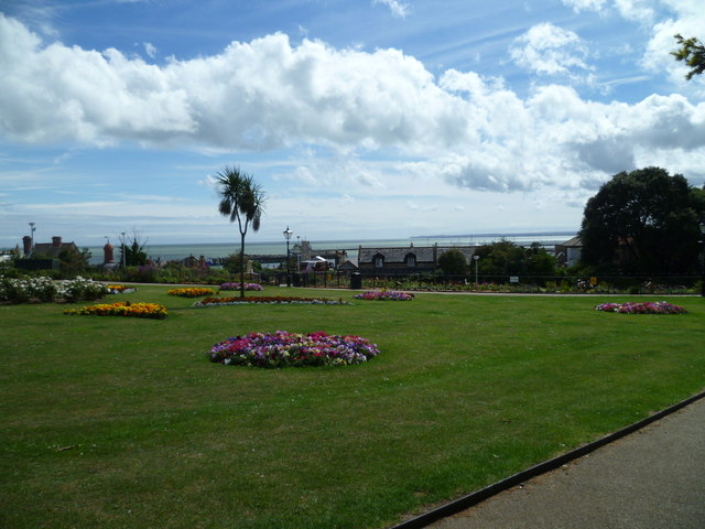 Park with a view in Ramsgate