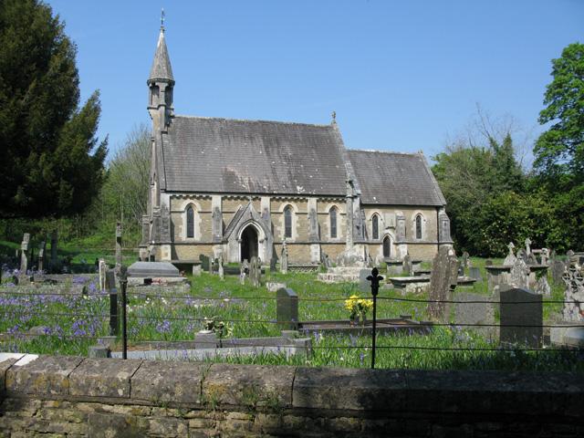 St.Teilo's Church at Merthyr Mawr