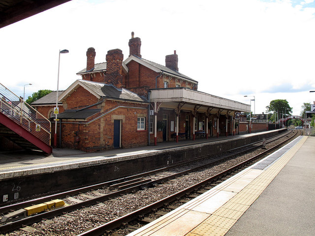 Oakham station buildings