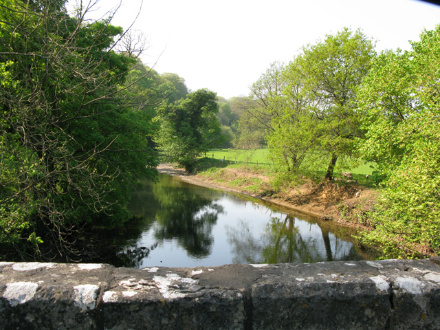 The Ogmore River from New Bridge