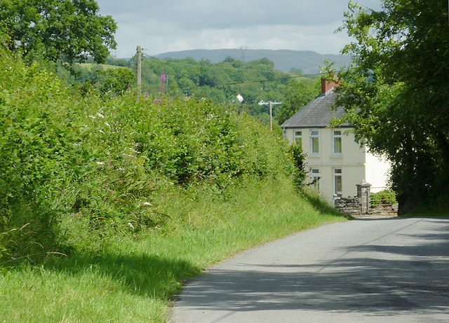Lane at  Comins Capel Betws, Ceredigion
