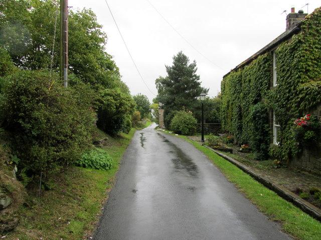 Church Lane, Braythorn looking South