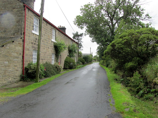 Church Lane, Braythorn looking North