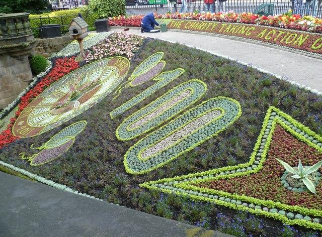Floral Clock, Princes Street Gardens (2011)
