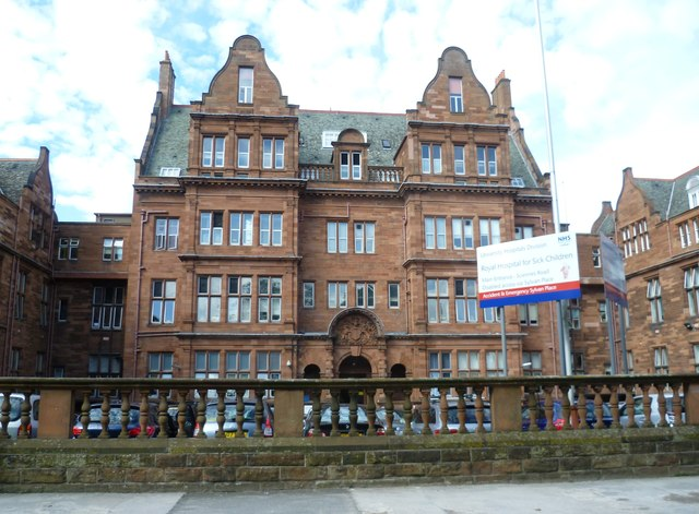 Royal Hospital For Sick Children, Sciennes Road