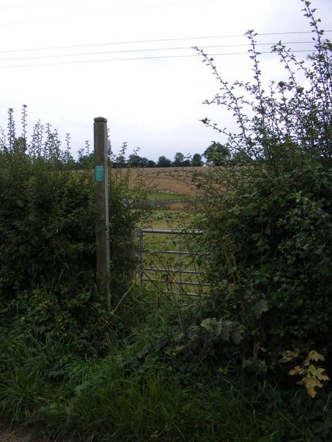 Footpath off The Street, Framsden