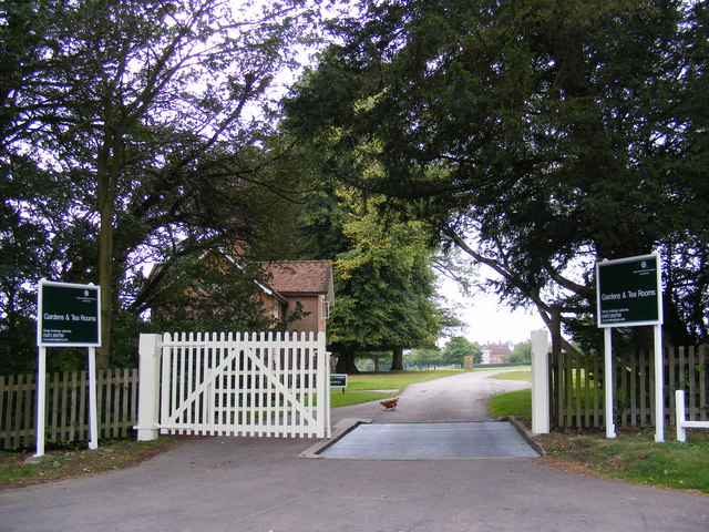 The entrance to Helmingham Hall