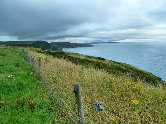 Cliffs above Black Isle