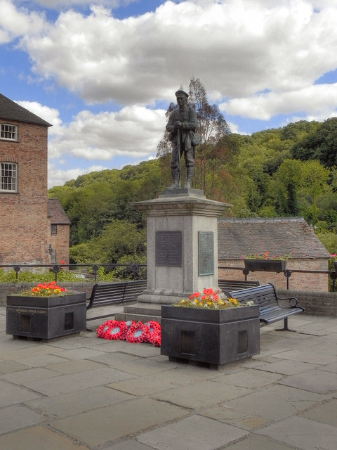 War Memorial at Ironbridge