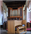 TQ7736 : Cranbrook Church Organ by Julian P Guffogg
