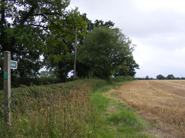 Footpath to the B1079