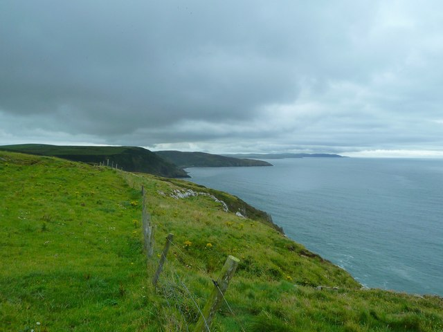 Cliffs above Dunanrea Bay