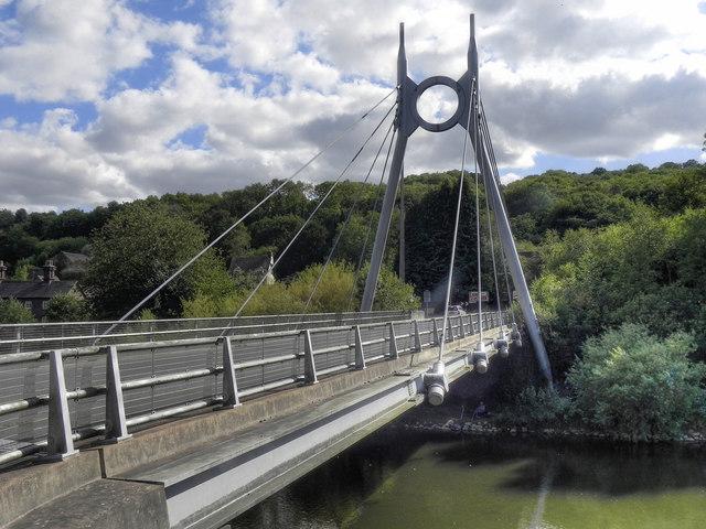 Jackfield Bridge, River Severn