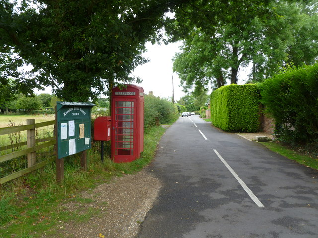 Chalbury Common, street furniture