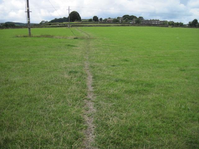 Footpath towards Oldfield