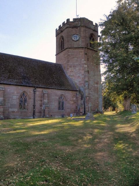 St Luke's Church, Hodnet