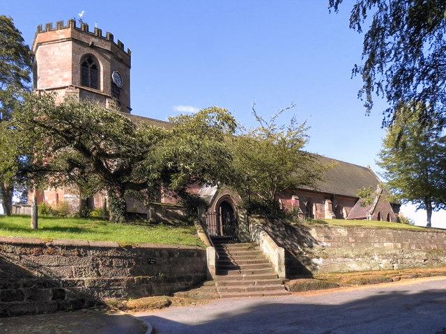 Parish Church of St Luke, Hodnet
