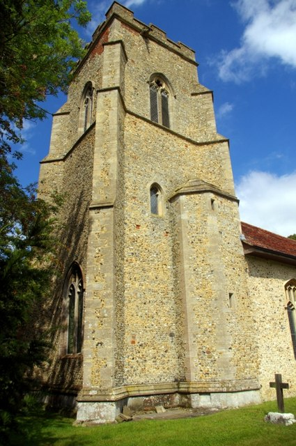 Tower of St Mary's Church