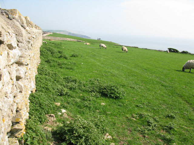 The coast between Southerndown and Ogmore