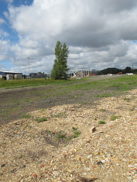 """Old Oak Common - site of former """"Factory Sidings"""""""