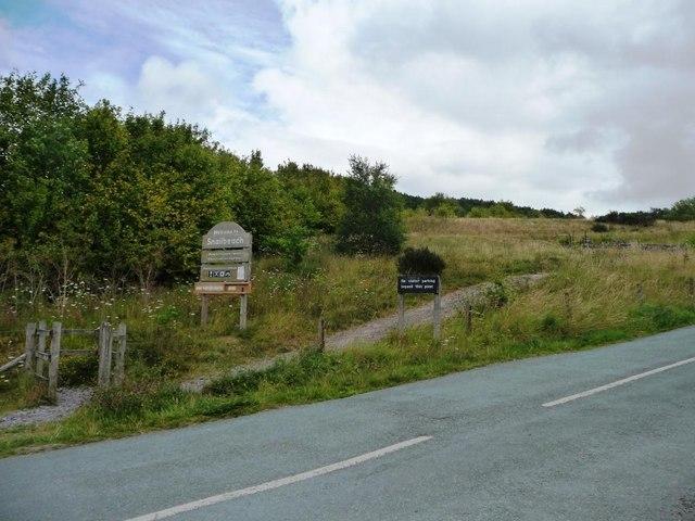 Path to Snailbeach Mine