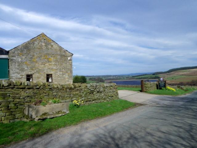 Entrance to Pott Hall Farm