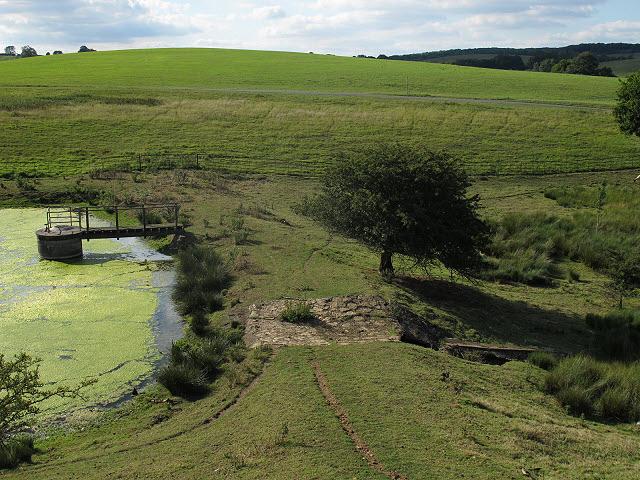 Launde Upper Reservoir - overflow