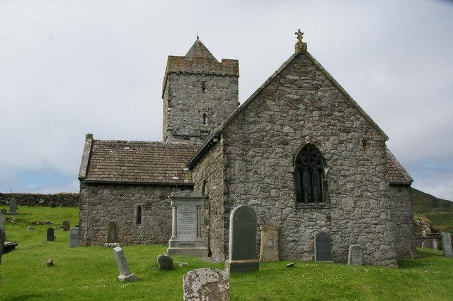 St Clement's Church, Rodel (Tur Chliamainn, Roghadal)