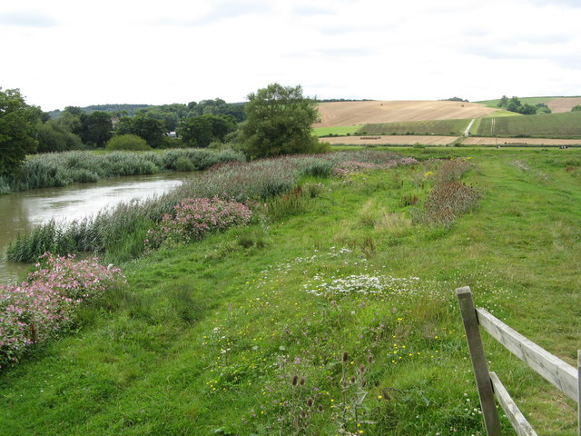 River Arun and meadows