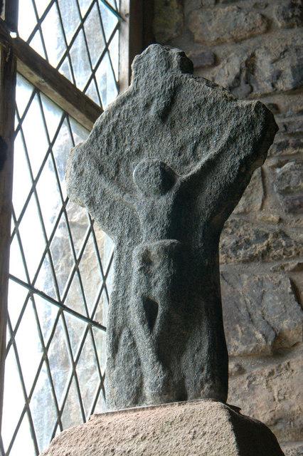 Crucifix in St Clement's Church, Rodel (Tur Chliamainn, Roghadal)