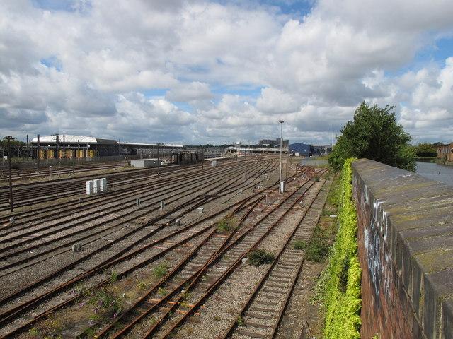 Old Oak Common sidings