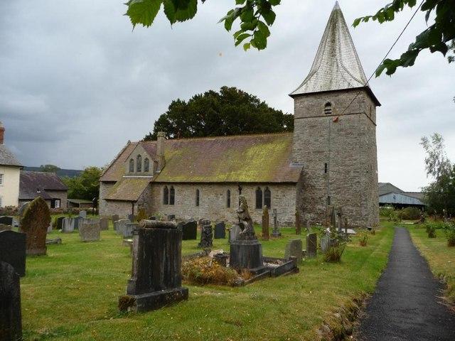 All Saints church, Norbury