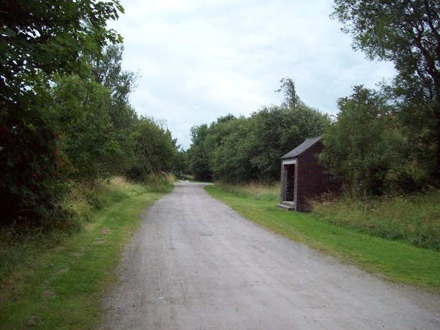 Railway Workers' Shed on the High Peak Trail