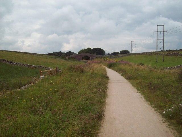 The High Peak Trail near Pomeroy
