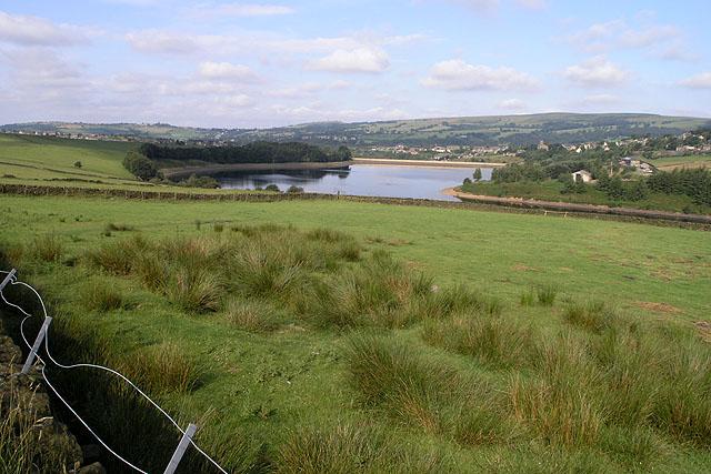View towards Bottoms Reservoir