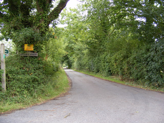 Byway & Entrance to Grange Farm