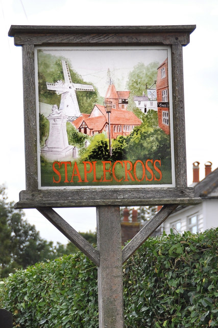 The Village Sign at Staplecross