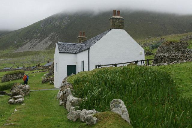 The factor's house, Village Bay, St Kilda