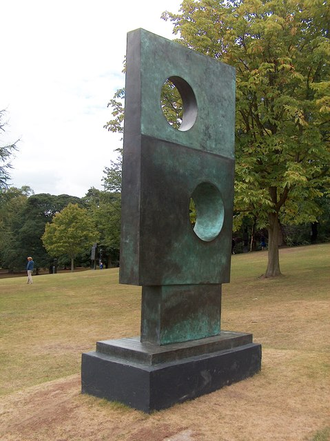Squares With Two Circles by Barbara Hepworth (1963) - Yorkshire Sculpture Park