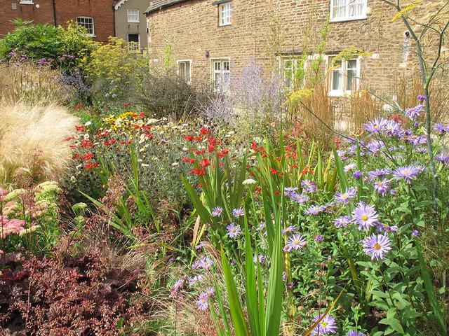 Oakham sensory garden