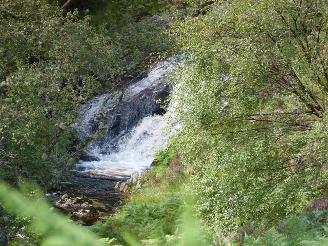 Waterfall on Neaty Burn