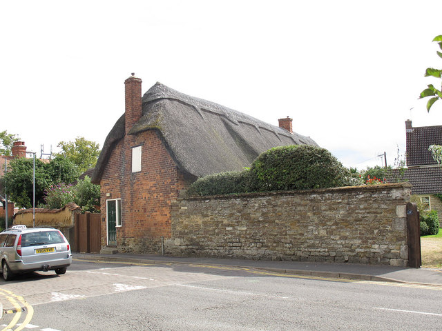 Thatched house in South Street, Oakham