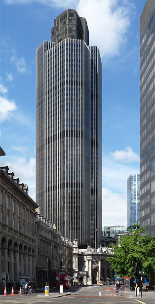 Former Natwest Tower, Old Broad Street