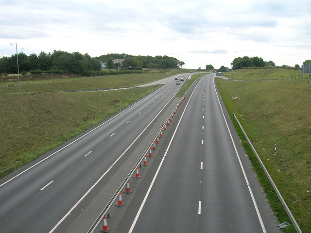 A1 southbound at Blyth
