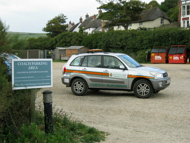 Lulworth Responders vehicle