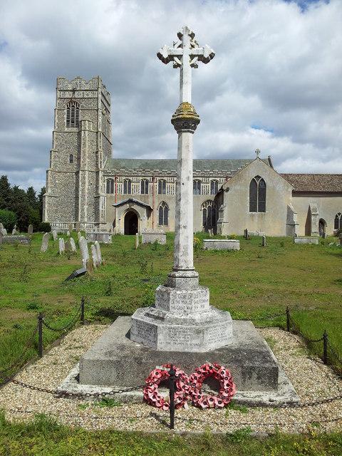 War memorial in Earl Stonham