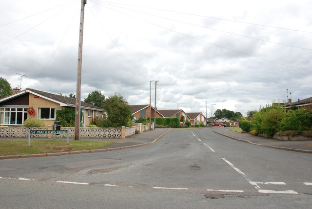 St. Matthews Drive, Derrington