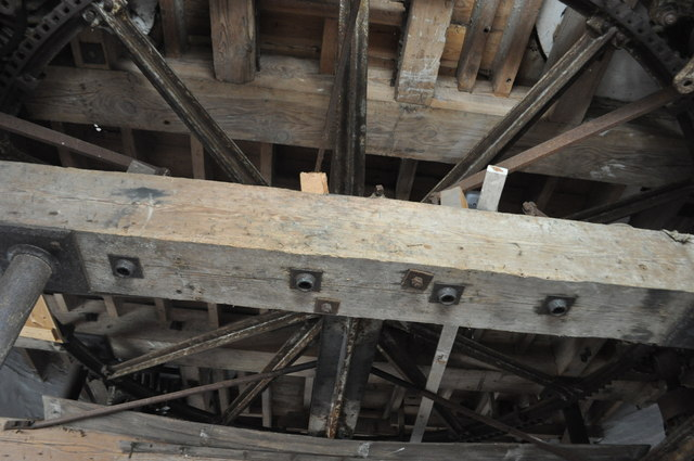 Old Buckenham Mill - Great Spur Wheel