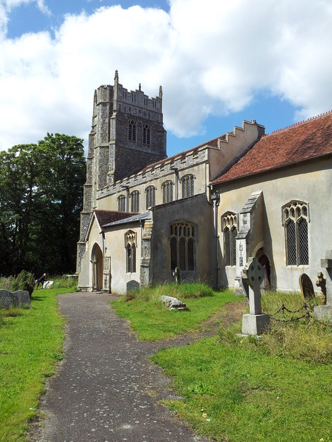 St Mary the Virgin Church, Stonham Parva